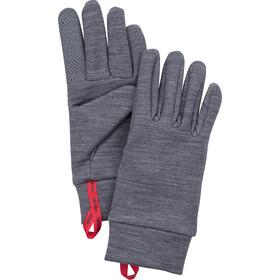 Hestra Touch Point Warmth Gloves 5-Finger Grå